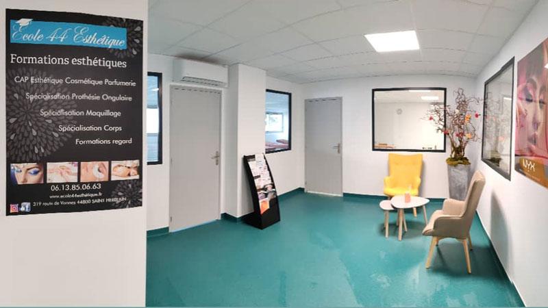 Ecole soins esthétiques - accueil - Nantes
